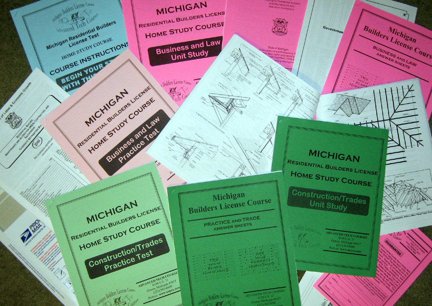 MICHIGAN BUILDERS LICENSE | 2017 Prelicense Info | Test Prep